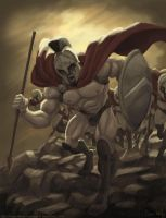 300 - The Charge by genekelly