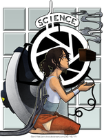 Aperture Science Nouveau by Ann-Chovi