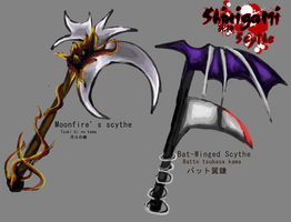 Shinigami Concept- Scythe by miss-mustang