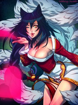 Ahri for Zephyr Kitsune by irahi