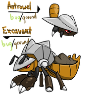 Draw it Again: Shovel Ant by tk36477