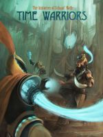 Bloodsport 13 | Time Warriors Book Cover by diogocarneiro