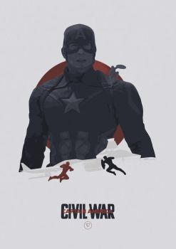 I Can Do This All Day - Captain America: Civil War by lewisdowsett