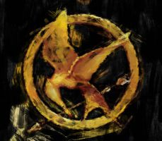 Hunger Games Symbol by PlunderPixels