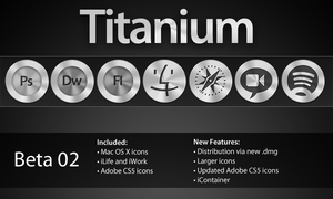 Titanium Icon Set - Beta 2 by StreamingPixels