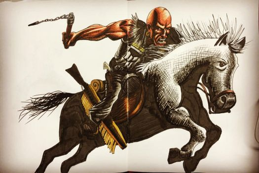 Scalped: He Rides a Pale Appaloosa by dumbginge