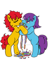 2ponies1clop by TheLookingForGroup