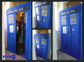 Home Made Tardis by mikedaws