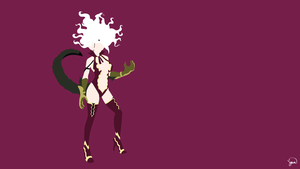 Mirajane Satan Soul (Fairy Tail) Minimalism by greenmapple17