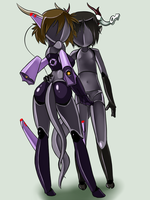 Rin Assimilated by Lavender-Doll