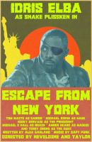 Escape from New York (2013) by AtomTastic