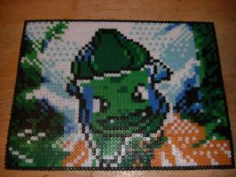 Bulbasaur Perler Bead Art by Spevial101