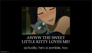 Sankarea: A Zombie Kitty is Fine Too by gamera68