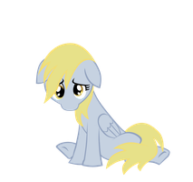 Cheer Up Derpy First Panel by MaydayParker