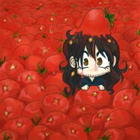 Kili in tomatos by red-eye-girl