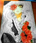 rose doll by MiriLaura