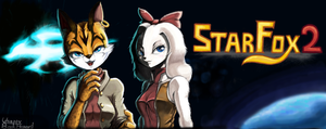 Starfox2, MIYU and FAY by Usappy-BarkHaward