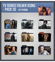 TV Series Folder Icons - Pack 35 by DYIDDO