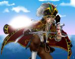 APH - Fearless pirate by Momiji95