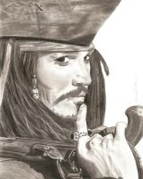 Captain Jack Sparrow by Gravy-Goose