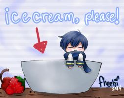 KAITO Needs Ice Cream! by fheebi