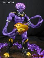 Tentakill Masters of the Universe custom figure by Jin-Saotome