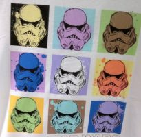 Storm trooper t shirt by elite3399