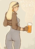 Beer is good for you. by Tomekkaz