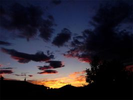 Clouds On Fire by Erf-0