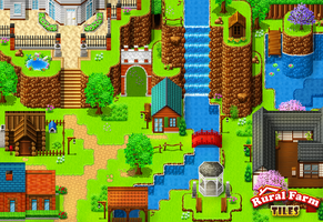 Rural Farm Tiles screenshot 2 by PinkFireFly