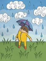 Happy April Showers by moopf