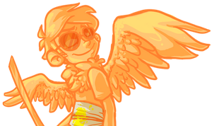 davesprite doodle by tamia-shade