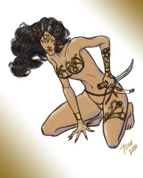 Dejah Thoris by silvertesh
