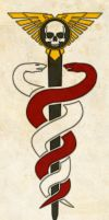 Warhammer 40k Officio Medicae Symbol (Ornate) by Light-Tricks