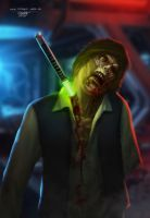 Zombie Han Solo by JASONS21