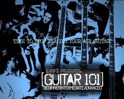 AMP Guitar 101_WebAD by marben