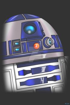 R2d2 by Madcatstudios