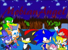 Sonic YT BG by Sophie-The-Skunk