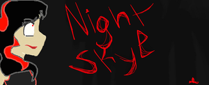 NIGHT SKYEEEEE by Maiko-of-Harmony