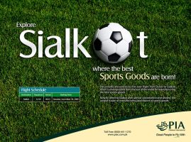 PIA Sialkot ad by creavity