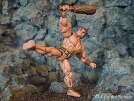 Caveman 3D printed Action Figure painted 01 by hauke3000