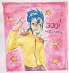 300 watchers (not on da, sadly) by maid-in-rei