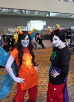 Vriska and Kanaya by rinchansflower88