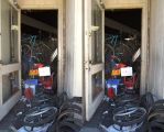 Stereograph - Bikes in the Door by alanbecker