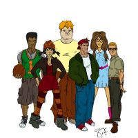 Recess gang by chinqchucknorris