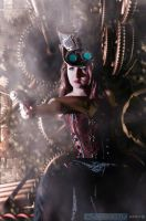 Steampunk girl by AndreaArtavia