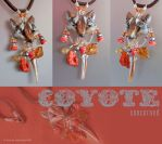 Coyote Concerned by phee-adornments