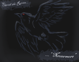 -The Raven- by StarlightWhispers