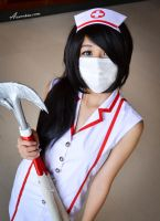 Nurse Akali - League of Legend cosplay by ix3rukia