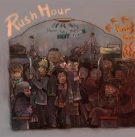 Rush Hour by Mushstone